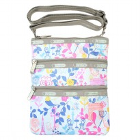[Ships same day] [LeSportsac] Cathay 7627 D385 Paris in Bloom