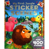 [Hellopandabooks] My First JUNGLE Sticker Scenes Book with over 400 stickers