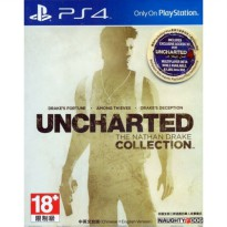 PS4 UNCHARTED THE NATHAN DRAKE COLLECTION Reg 1 USA English