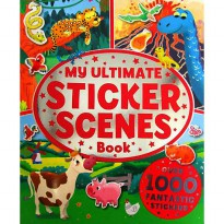 [Hellopandabooks] My Ultimate Sticker Scenes Book with over 1000 fantastic stickers