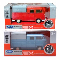 Welly Die Cast VW T1 Double Cabin Pick Up Soft Top