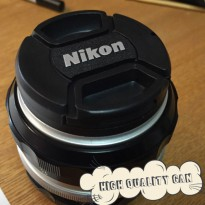 Tutup Lensa Nikon 52mm Lens Cap 18-55 Kit