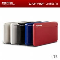 TOSHIBA CANVIO CONNECT II 1TB HARDISK PORTABLE EXTERNAL