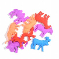 [24 PCS] Expandable Animal Water Animal /Growing Animal Besar Uk Kecil (random)