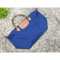 as Wanita Import Longchamp Classic Large Short Handle - Elektrik
