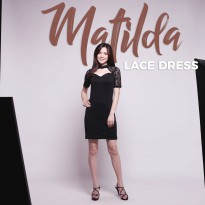 Jo & Nic MATILDA LACE DRESS - Dress Mini Wanita - Dress Bodycon