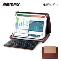Remax Leather Bag series for Ipad Pro 12 Inch with Bluetooth Keyboard