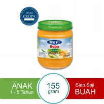 HERO IMPORT PREMIUM Baby Food Four Fruits Import Premium - 115 gr