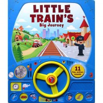 [Hellopandabooks] Little Train's Big Journey Sound Board Book with Steering Wheel and 11 fun action