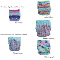 SALE!! Cloth Diaper ZigieZag (bubblezbee) Jumbo 1