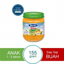HERO IMPORT PREMIUM Baby Food Fruit Cocktail Import Premium 115gr