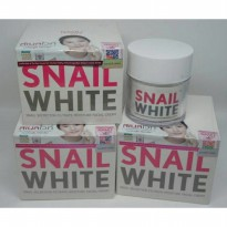 (Recommended) SNAIL WHITE CREAM ISI 50ML ORIGINAL THAILAND