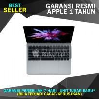 Garansi Apple MacBook Pro 13' inch Retina 2017 MPXQ2 Grey (2.3Ghz Dual Core i5/RAM 8GB/SSD 128GB)