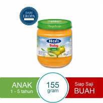 HERO IMPORT PREMIUM Baby Food Fruit Apple Import Premium - 115gr