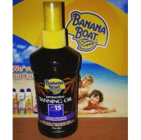 Banana Boat Protective Tanning Oil SPF 15 (236ML) ORIGINAL 100%