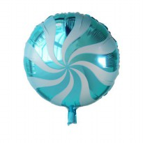 Ballon Foil Garis Bulat Or Balon Foil Candy BB-40E01S