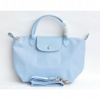 Longchamp Le Pliage Neo Small - Baby Blue