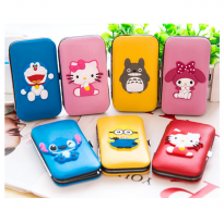 Manicure gunting kuku set karakter melody doraemon hello kitty minion