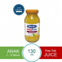 HERO IMPORT PREMIUM Baby Food Mixed Fruit Juice Import Premium - 130ml
