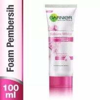 Garnier Sakura White Pinkish Radiance Foam (100ML) Ori 100% BPOM