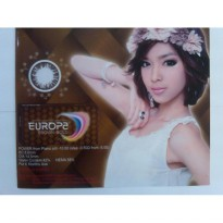 Spesial Softlens Warna Coklat Europa Brown Bold