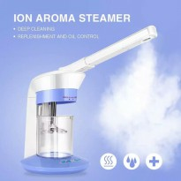Face Spa wajah 2 In 1 Facial Steamer Salon Spa Ozone