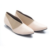 Dr. Kevin Women Flats Shoes PU Leather 43208 Cream
