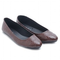 Dr. Kevin Women Flats Shoes PU Leather Daisy Flower 43196 Maroon