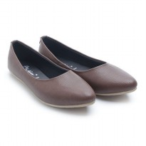 Dr. Kevin Women Flats Shoes PU Leather 43197 Brown