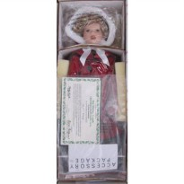 [poledit] Little Caroler From the Series Entitled Danbury Mint SHIRLEY TEMPLE `LITTLE CARO/12245814