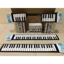 Piano Hand Roll Up - Piano Portable Gulung  Mainan anak-anak