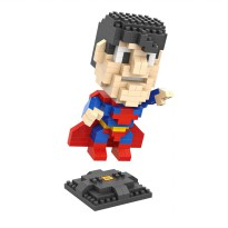 LOZ 9456 Diamond Block Model Superman Large Series