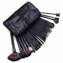 Alat make up wanita Brush Make Up 32 Set komplit dengan Pouch