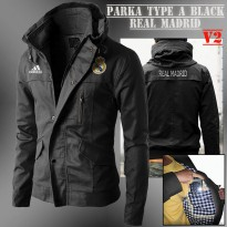 Jaket Parka Type A Real Madrid