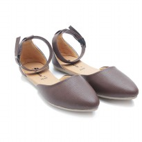 Dr.Kevin Women Flats Shoes 26122 Brown