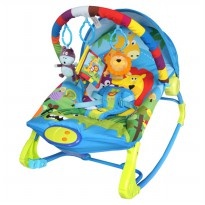 Sugar Baby Bouncer Premium Rocker 10 in 1 Ada 3 Motif Lucu