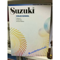 Suzuki Violin School Vol 3 revised buku biola