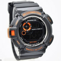 Grosir! JAM TANGAN PRIA REDDINGTON MUDMEN ORI ANTI AIR BLACK LIST ORANGE