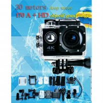 Action Sports Camera 4K 16MP Wifi Up To 64gb TF Card