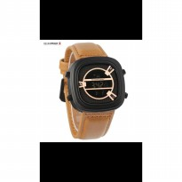 Grosir! JAM TANGAN PRIA SEVENFRIDAY DIGITAL BROWN COVER ROSEGOLD