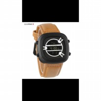 Grosir! JAM TANGAN PRIA SEVENFRIDAY DIGITAL BROWN COVER WHITE