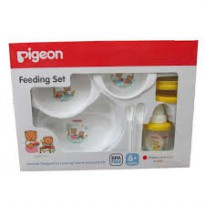 PIGEON FEEDING SET BESAR + TRAINING CUP SET