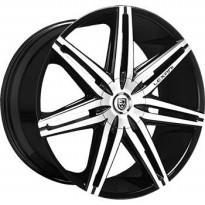 Velg LEXANI JOHNSON 2 R22. Fits To Most Vehicles: Pajero/Fortuner/Land Cruiser/Lexus/Audi/BMW etc