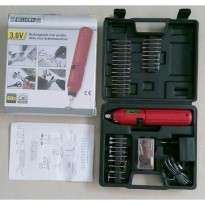 Rechargeable 3.6V Mini Drill