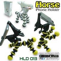 Mini Tripod Holder / Flexible Tripod Horse Style for Smartphone
