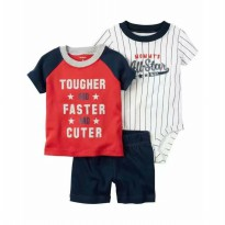 Carter's 3in1 - Tougher Faster and Cuter
