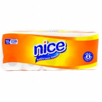 Tissue/Tisu Gulung Nice Bathroom 10rolls/238 sheets [bundle 2]