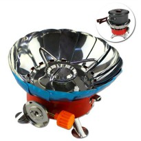 Kompor Gas Portable Mini Kovar (Windproof Camping Stove)
