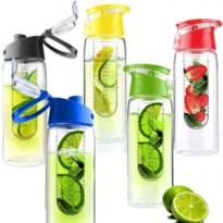 1 KG 4 pc Botol Tritan generation 2 infused infuser Bottle Fruit Juice