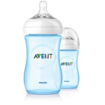 Philips AVENT NAT Bottle 2.0 260ml Blue Twin